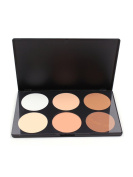 JollyChic 6 Colours Multi Function Shading Powder Makeup Kits