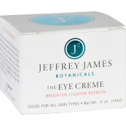 Jeffrey James Botanicals Eye Cream - The Eye Creme - Brighten Lighten Refresh - 15ml