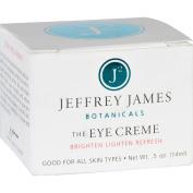 Jeffrey James Botanicals Eye Cream - The Eye Creme - Brighten Lighten Refresh - 15ml