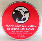 Manteca De Ubre Vaquita Pain Relieving Ointment Muscle Pain UDDER BALM 90ml CAN