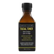 Men's Faical Toner with Organic Aloe Vera, Glycolic Acid, & Organic Sugar Maple 100ml