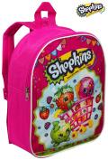 Kids Backpack Rucksack Cabin Bag for Children / Toddler - Shopkins Girls Junior Backpacks for School / Nursery / Travel
