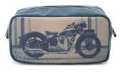 Catseye Men's Toiletry Bag - Motorcycle, Large