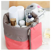Makeup bag Waterproof Travel Kit, Organiser Bathroom Storage Cosmetic Bag With a Mini Bag, Carry Case Toiletry Bag, Jewellery Organiser,Men Shaving Kit Portable Luggage Bag for Vacation Camping Doutless Bay