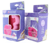 Combo Pack Spongeables 40+ Uses Back Scrub Infused Sponge Refill 180ml & Pedi-Scrub Infused Foot Buffer 30+ w. Container