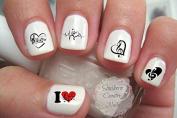 Music Note Love Nail Decal Musical Notes Nail Design