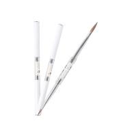 1pc BQAN Nail Pearl 4# & 8#Acrylic Double Use Brush Design Professional Polish Pen