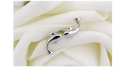 925 sterling silver stud earring dolphin design earrings jewellery