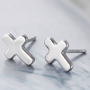 1 pair 925 sterling silver stud earring 100% authentic jewellery