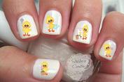Spring Tweet Nail Art Decals