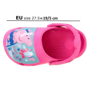 Peppa Pig Shoes, Child's Peppa Pig Clogs, Pink Sandals (UK 10