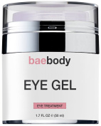 Baebody Eye Cream for Dark Circles, Puffiness, Wrinkles and Bags - The Most Effective Anti Ageing Eye Gel for Under and Around Eyes - 50ml