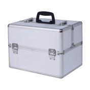 "Giantex 36cm x 23cm x 10"" Pro Aluminium Makeup Train Case Jewellery Box Cosmetic Organiser"