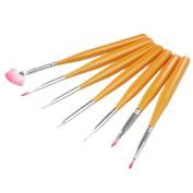 Sannysis 7PCS Design Painting Dotting Pens Brushes