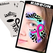 Face Painting Stencil - StencilEyes Profile Ribbon