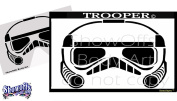 Face Painting Stencil - StencilEyes Trooper