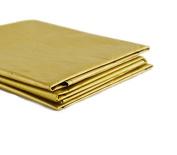 50 sheets of Sunshine Yellow Metallic Yellow Tissue Paper