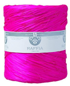 Jillson Roberts Bulk Spool 1cm x 200m Poly Raffia Available in 22 Colours, Magenta