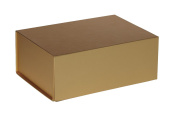 Jillson Roberts 36-Count Small Magnetic Closure Presentation Gift Boxes, Metallic Gold Matte