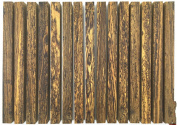 WellieSTR 1 Piece Mexico Gold Blackwood ,unfinished craft wood for Crafting Bead 30*2.2*2.2cm/11.8*9*9 inch