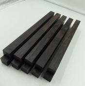 WellieSTR 1 Piece African Blackwood ,unfinished craft wood for Crafting Bead 30*2.2*2.2cm/11.8*9*9 inch