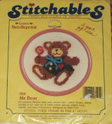 Mr. Bear - Dimensions Stitchables Needlepoint Kit #7501
