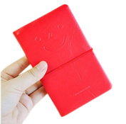 Drasawee Cute Journal Notebook 100 Pages Lined Page Book Writing Notebooks Red