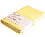 Drasawee Cute Journal Notebook 100 Pages Lined Page Book Writing Notebooks Light Yellow