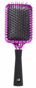 Upper Canada Soap Studio Dry Metallic Paddle Brush, Pink