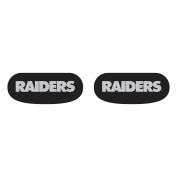 Party Animal Oakland Raiders Team Eye Black Strips- 3 Pairs