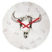 DENY Designs Kangarui Romantic Boho Buffalo Iii Round Clock, 30cm Round