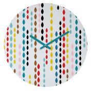 DENY Designs Khristian A Howell Nolita Drops Round Clock, 30cm Round
