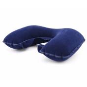 Inflatable U Shaped Pillow Car Head Neck Rest Air Cushion