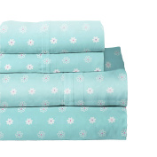 Lullaby Bedding 200-YBFLY Butterfly Garden Toddler Cotton Printed Sheet Set