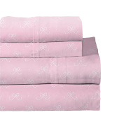 Lullaby Bedding 200-YBrina Ballerina Toddler Cotton Sheet Set