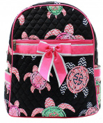 J & C Family Owned Sea Turtle Quilted 33cm Backpack