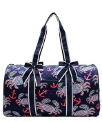 J & C Family Owned Crab Quilted 50cm Duffle Bag