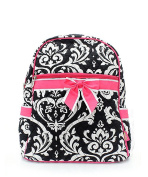 J & C Family Owned Damask Quilted 33cm Backpack