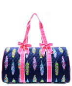 J & C Family Owned Feather Quilted 50cm Duffle Bag