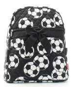 J & C Family Owned Soccer Quilted 33cm Backpack