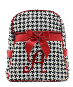 J & C Family Owned Houndstooth A Quilted 33cm Backpack