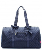 J & C Family Owned Solid Quilted 50cm Duffle Bag