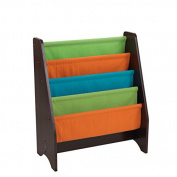 KidKraft 14235 Multi-colour Sling Bookshelf, Espresso