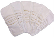 PUL Waterproof Baby Cloth Nappy Bamboo Inserts 5 Layers Antibacterial Reusable Liner