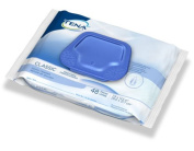 TENA Classic Bath Wipe Washcloth, Soft Pack, Scented, 48 Pack, 65724 - 576/CASE