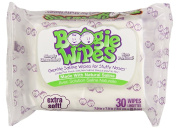 Boogie Wipes Unscented 30 Each