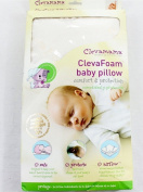 Baby Pillow New Cream Clevamama ClevaFoam