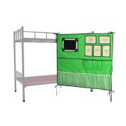 ARTSMAX Bed Multifunctional Storage Bag Organiser Waterproof Suspended Pockets Storage Gadgets Bedroom Decoration 85 × 78.5CM