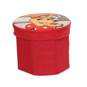 ARTSMAX Children Storage Box With Lid Cube Storage File Storage Oxford Polygonal 32 × 25CM