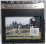 "Picture Frame (15cm x 10cm in.) Golf Theme ""For The Love Of The Game"""